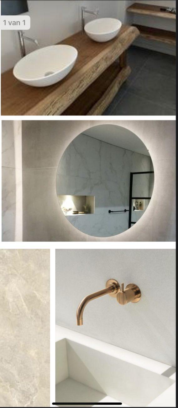 Badkamer - Lodge op de eerste verdieping
