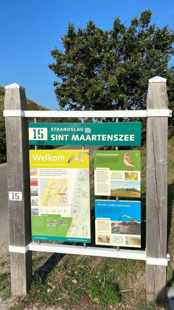 Strandslag Sint Maartenszee